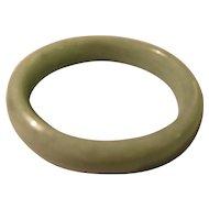 Green Chinese Jade Bangle Bracelet