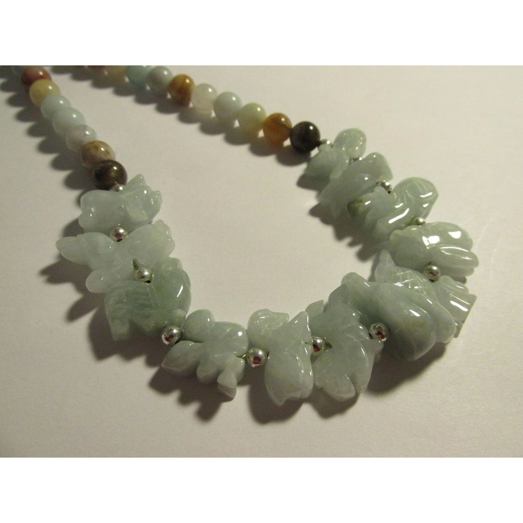 cute necklace bead jewellery chinese and antique ksvhs silver jade