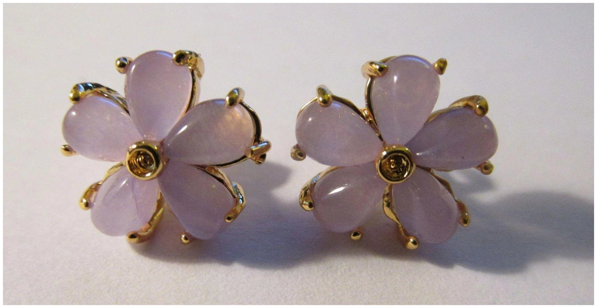 jewellery earring tala purple product gold diamonds earrings rose flower amethyst