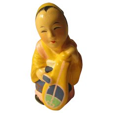 "2 1/2"", Benzaiten, Lady God of Fine Arts of the Mythical Seven Lucky Asian Gods"