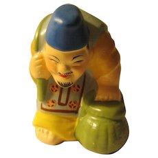"2 3/8"", Ebisu, God of Abundance, Seven Lucky Gods of Asian Folklore"