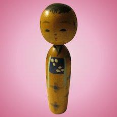 """3"""", Japanese Kokeshi of Young Man"""