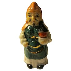"3 1/2"", Bishamonten, God of War and Battles, Ceramic Figurine"
