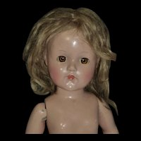 """16"""" Effanbee USA Composition, project doll, FREE shipping"""
