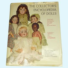 Ships Free--Collectors Encyclopedia of Dolls