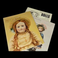 Ships Free--3 Doll Makers Workbooks by Mildred Seeley