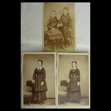 3 Antique Photographs