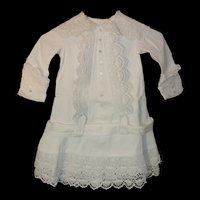 Remarkable Child's 1800's Frock