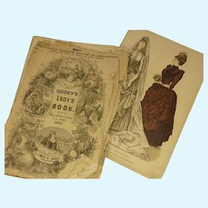 Godey's Lady's Book 1871 and 1886