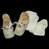 "4"" Cloth Shoes and Stockings"