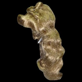 Dark Blond Wig, size 7, older synthetic
