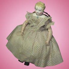 Rare Huret Era Enfantine Mode Classic 1860 Dress