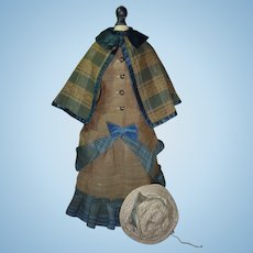 Charming Ensemble, Gown, Cape, Hat for French Fashion, medium size