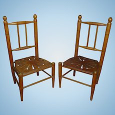 """Pretty 12"""" French Chair, 1 available"""