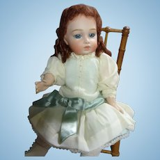 """White Batiste Cotton Ensemble for 12"""" with model included"""