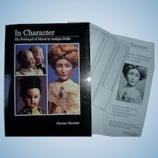 In Character, Portrayal of Mood by Theriault 1991, includes both Book and 1992 Auction Catalogue with prices