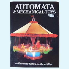 Extensive Info about Automata and Mechanical Toys, Mary Hillier, 1988