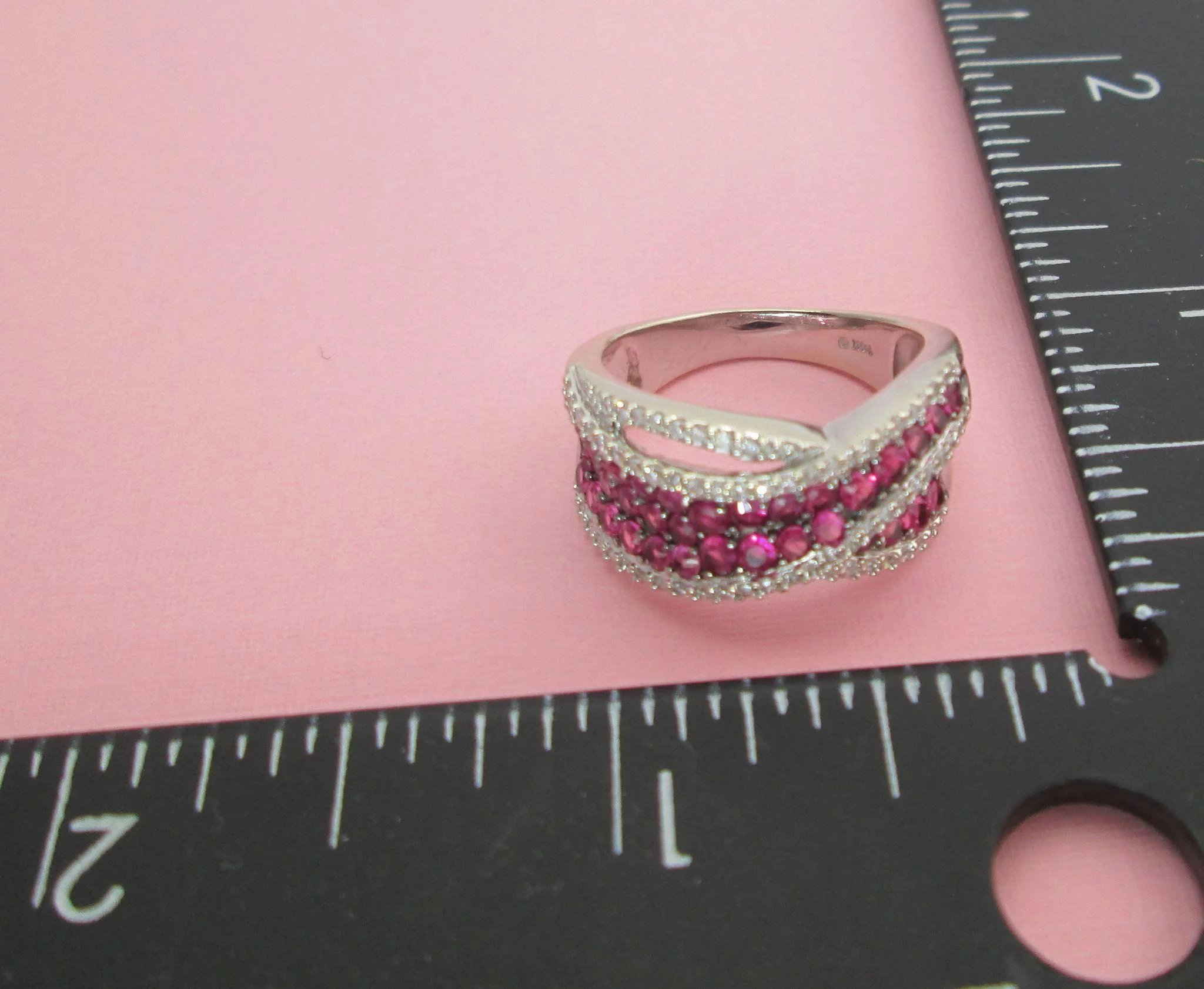 Natural Ruby And Diamond Ring 14K Estate 3.15 Carats le Vian SOLD ...