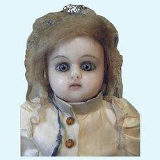 Wax Head Antique Doll Rare Ernst Grossman
