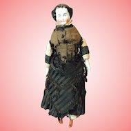 Antique China Doll German Flat Top