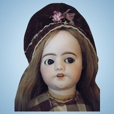 Antique French Doll Walking Jumeau