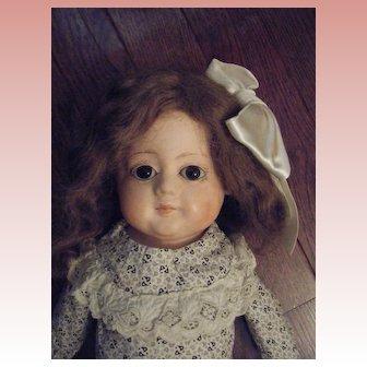 Antique German Papier Mache Doll