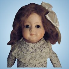 Antique German Papier Mache Doll