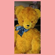 Teddy Bear Golden Mohair Huge