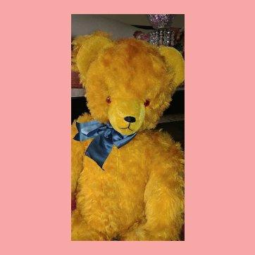 Teddy Bear Golden Mohair Huge