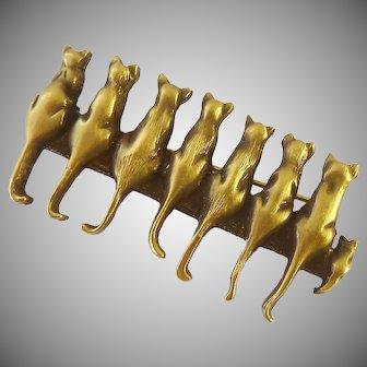 Museum of Fine Arts MFA Multi-Cat Brooch