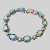 Coro Pegasus Aurora Borealis Rhinestone Bracelet
