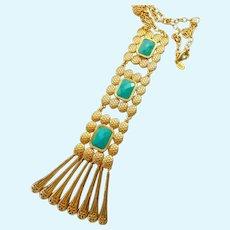 Joan Rivers Long Pendant Necklace Dramatic
