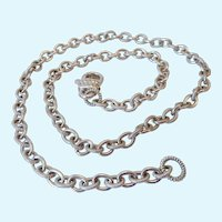 Judith Ripka Sterling Silver 925 Chain Necklace
