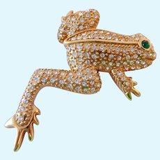 JBK Jackie Kennedy Replica Frog Brooch Camrose & Kross