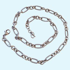 Carolyn Pollack Sterling Silver 925 Chain Necklace