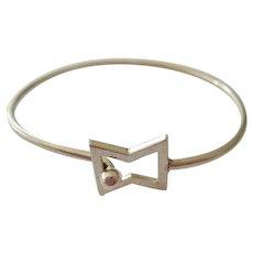 Sterling Silver 925 Hook-On Bracelet