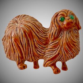 Gerrys Enamel on Metal Pekingese Dog Pin