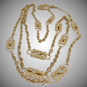 JBK Jacqueline Kennedy Replica Necklace Double Strand Convertible By Camrose & Cross