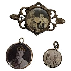 Royalty Vintage King Edward VII Commemorative Coronation Collectibles
