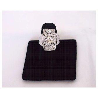 Vintage Art Deco Diamond Ring