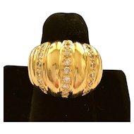 Mid-Century Diamond Ring