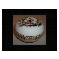 Richard Ginori Fiesole Scenic Trinket Box Fisherman