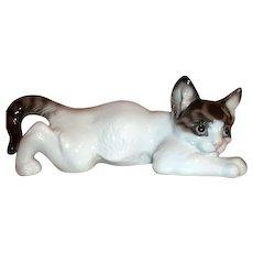 Rosenthal Germany Crouching Cat  #60
