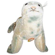 """Steiff Robby Seal Toy 5"""" Tall"""