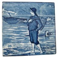 Wedgwood Calendar November Blue Tile