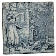 "Wedgwood Tile August 6"" by 6"""
