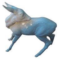 Meissen White Porcelain Deer Figurine A 1243