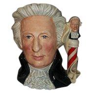 """Royal Doulton Character Jug Mozart D7031   7"""" Tall"""