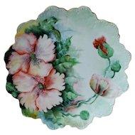 "Rosenthal Malmaison Bavaria Cabinet Plate 9 1/2"""