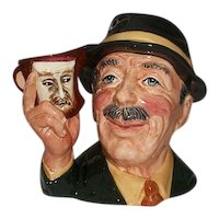 """Royal Doulton The Collector Character Jug D 6796 Approx 6 3/4"""" Tall with COA  Limited Edition"""